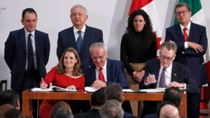 CTV National News: Revised NAFTA finally signed