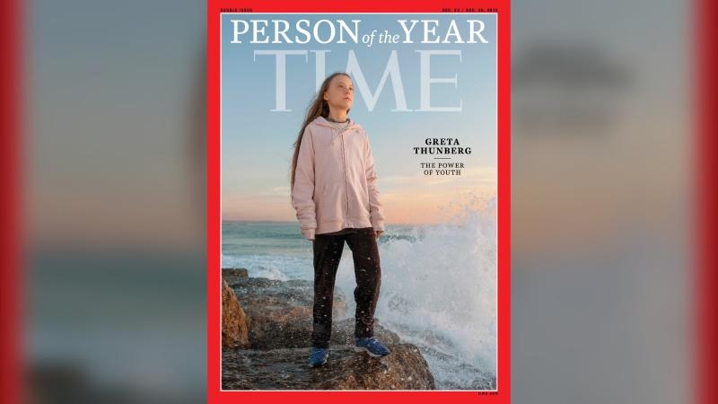 Greta Thunberg was named Time person of the year. (Evgenia Arbugaeva for TIME)