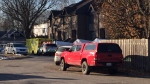 The bodies of a woman and two young children were found in a home in Montreal's east end Pointe-aux-Trembles neighbourhood.