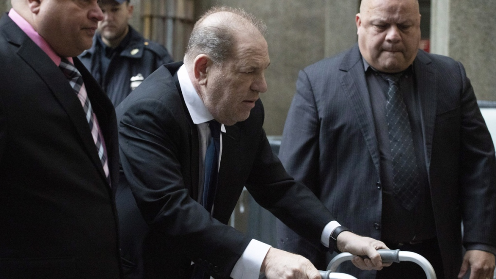 Harvey Weinstein in New York