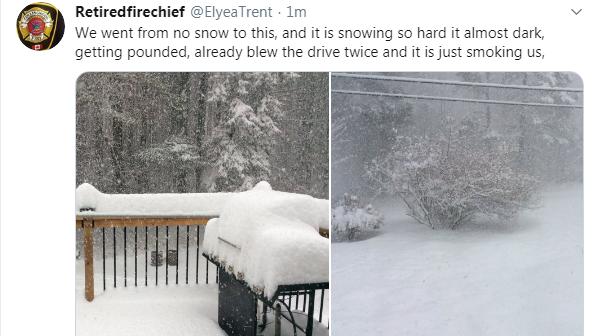 Huntsville snow