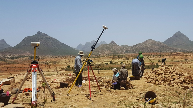 Archeologists have unearthed the remains of a town that was inhabited for some 1,400 years before vanishing into the dusty highlands of northern Ethiopia around AD 650. (Credit: Ioana Dumitru)