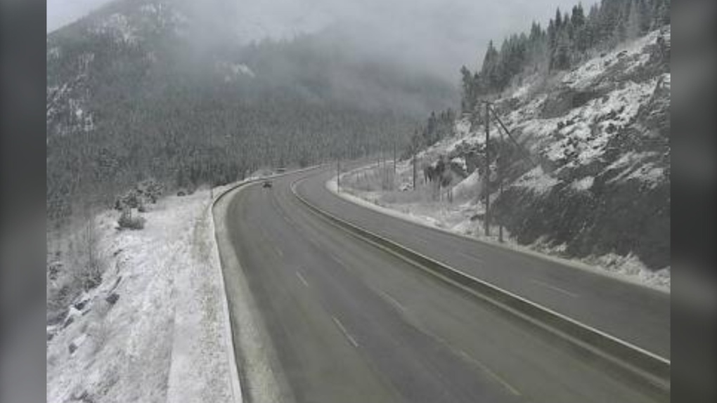 Snowfall warning for Coquihalla; up to 25 cm expected