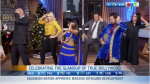 Bollywood dance performance