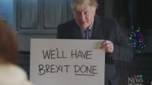 Boris Johnson's political ad