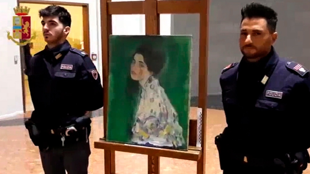 Portrait found in Italy gallery's walls verified as by Klimt