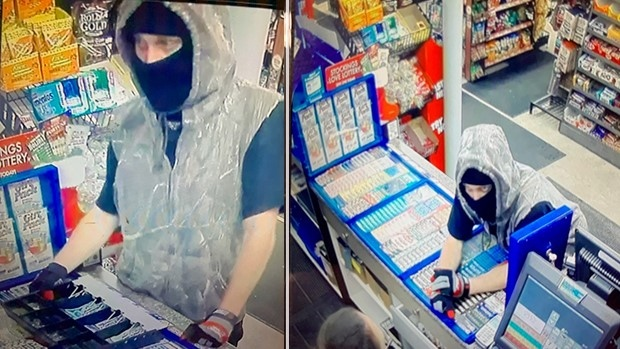 Knife wielding bandit accused of two robberies in less than 24 hours