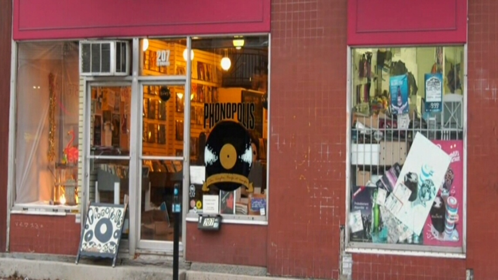 Phonopolis record store
