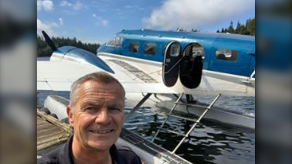 B.C. pilot Alex Bahlsen is seen in this provided image. Bahlsen was among the three people killed in a plane crash on Gabriola Island on Dec. 10, 2019.