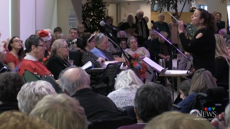 Sudbury seniors' facility's Christmas concert