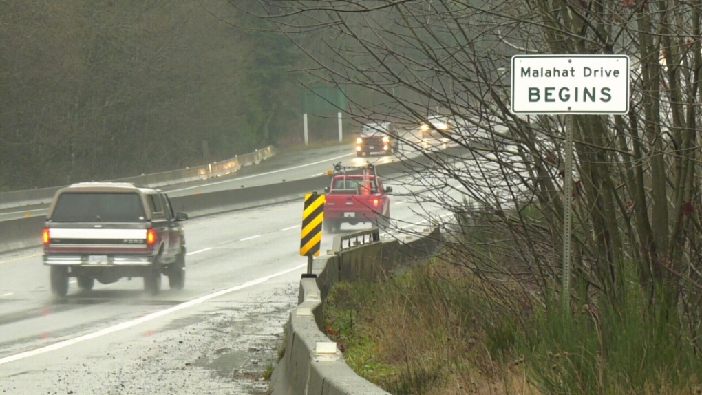 'It's really quite shocking': police impound 19 vehicles for Malahat speeding in one day