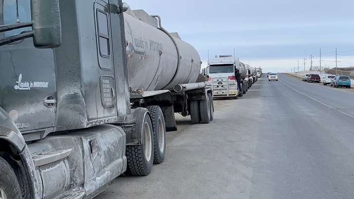 Trucking companies concerned with wait times to enter refinery