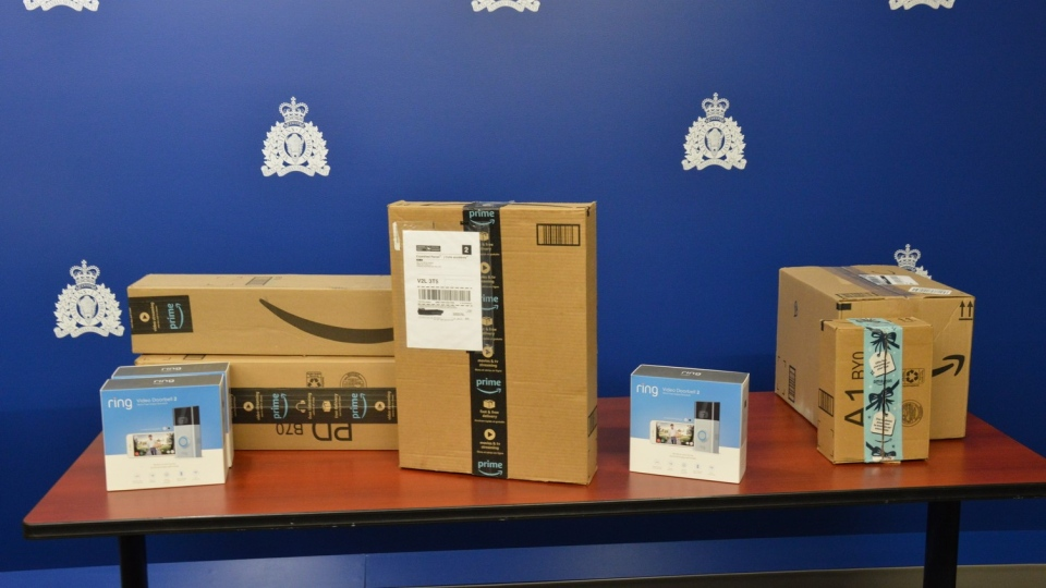 RCMP bait packages