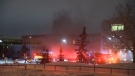 Sherwood Park Library explosion