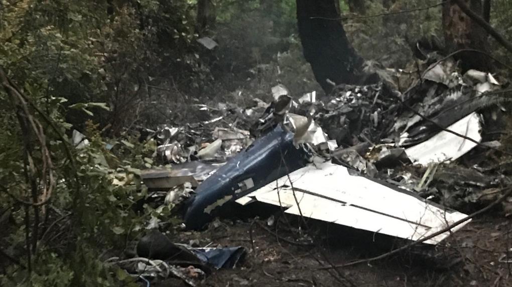 Gabriola Island crash