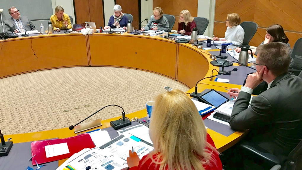 St. Albert Public School board meeting