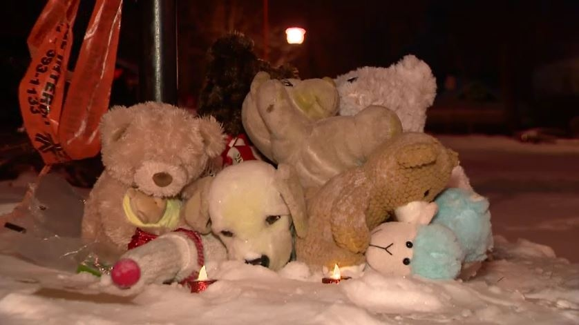 Toys on lawn of Montreal family found dead