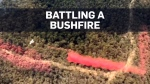 Caught on cam: Dramatic brushfire fight in Austra