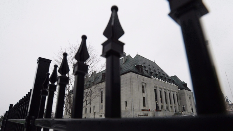 The Supreme Court of Canada is shown in Ottawa on January 19, 2018. (Sean Kilpatrick / THE CANADIAN PRESS)