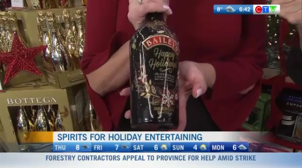 Spirits for holiday entertainment