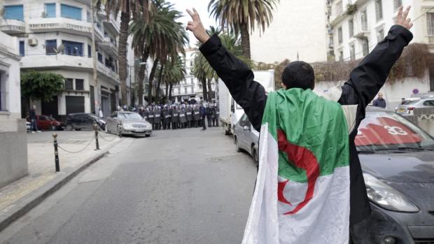 In the Algerian capital Algiers on Dec. 12, 2019. (AP)