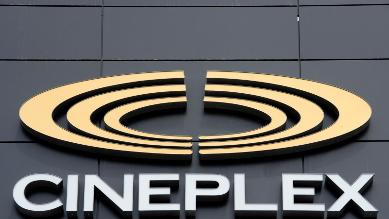 A Cineplex logo.
