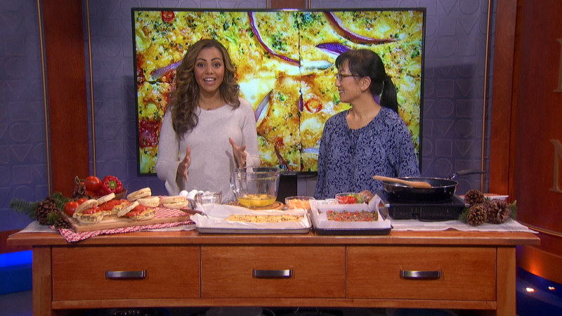 Home economist and cookbook author Sylvia Kong joins us with some make a-head meal ideas perfect for breakfast or lunch