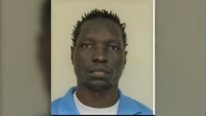 Winnipeg Police say Apay Ogouk, 35,  is a convicted sex offender recently released from Headingley Correctional Centre and believed to be living in Winnipeg (Image supplied: Winnipeg Police Service)