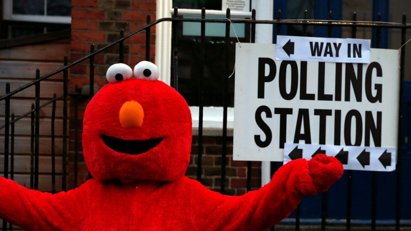 Strange occurrences at U.K. polling stations