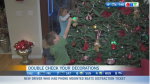 Holiday hazards for kids