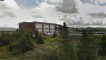 Sacred Heart Academy in Marystown, N.L. is seen in this screengrab from Google Maps. (Google Maps)