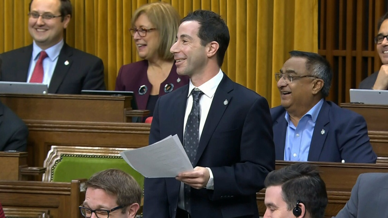 MP recites holiday poem in the House of Commons