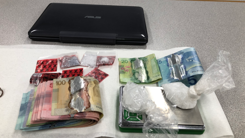 Police say they seized more than $4,000-worth of drugs after an arrest in Cambridge. (Source: WRPS)
