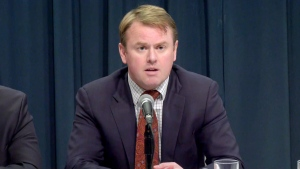 Health Minister Tyler Shandro is scheduled to make an announcement on prescription drugs. (File photo)