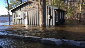 Paul Emmerson's cottage flooded this spring along the Ottawa River in Horton Township.