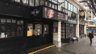 The Strathcona Hotel complex has been undergoing renovations both inside and outside the building on Douglas Street. (CTV Vancouver Island)