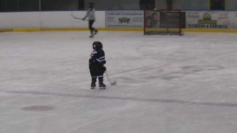 viral hockey video