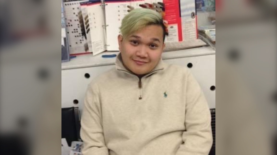 OCAD student Jeremy Vincent Urbina was shot and killed in North York on Dec. 11, 2019. (Supplied)