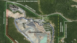 The CRD estimates that the Hartland Landfill will reach capacity within 25 years: (CRD)