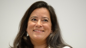 In this file photo, Jody Wilson-Raybould arrives at a news conference to discuss her political future in Vancouver, Monday, May 27, 2019. THE CANADIAN PRESS/Jonathan Hayward