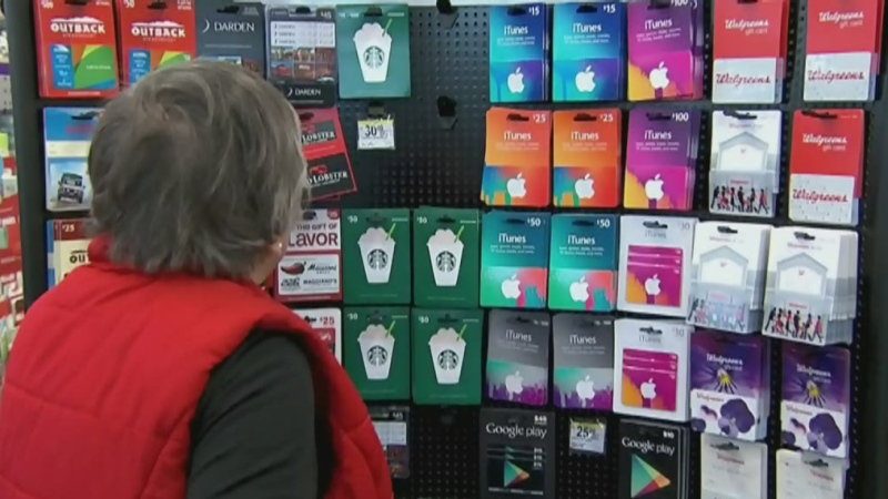 Police warn of pre-paid credit card scam