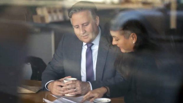 Vancouver Mayor Kennedy Stewart is seen in a still image from video released on Facebook Nov. 5, 2019.