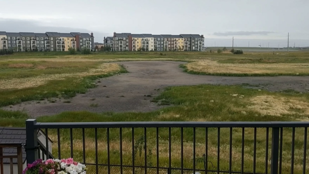 Property owners demand answers after wetland dries up