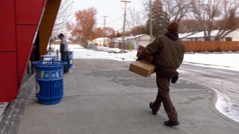 With the Christmas shopping season well underway, many people are ordering things online. For anyone worried their package may fall victim to a porch pirate - there's a new safe-drop parcel service in St. James. (source: CTV News Winnipeg)