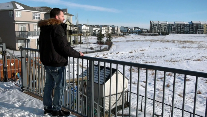 Family blames Calgary for drying up wetland