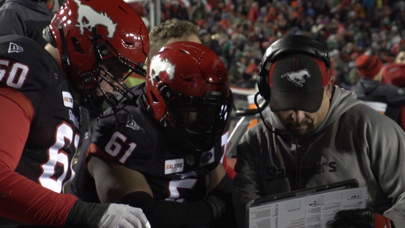 Changes in the Stampeders' coaching staff
