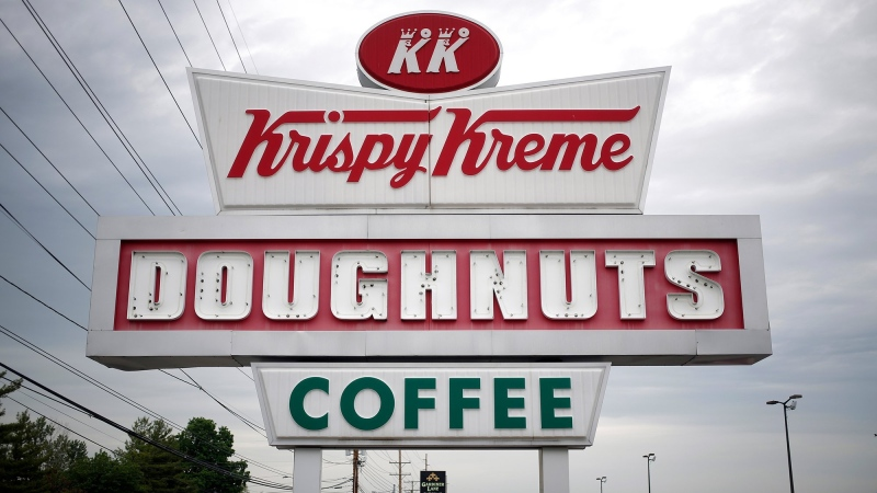 The family that owns well-known food brands like Krispy Kreme and Panera Bread announced a multi-million dollar charity donation after an investigation revealed that their Nazi ancestors used slave labor during World War II. (Luke Sharrett/Bloomberg/Getty via CNN)