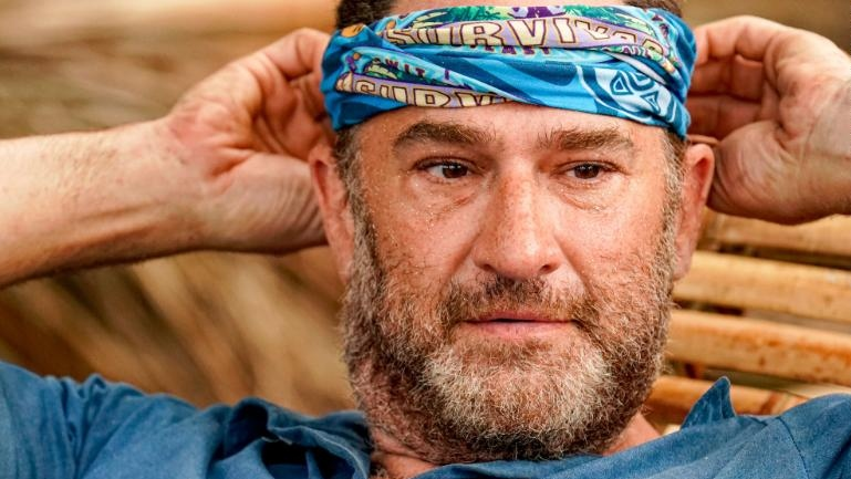 """Dan Spilo, a 48-year-old talent manager, was the first contestant asked to leave """"Survivor"""" in the show's 39 seasons. (Robert Voets/CBS via Getty Images/CNN)"""