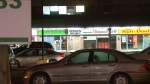 A teen was injured in a shooting at a North York plaza. (CTV News Toronto)