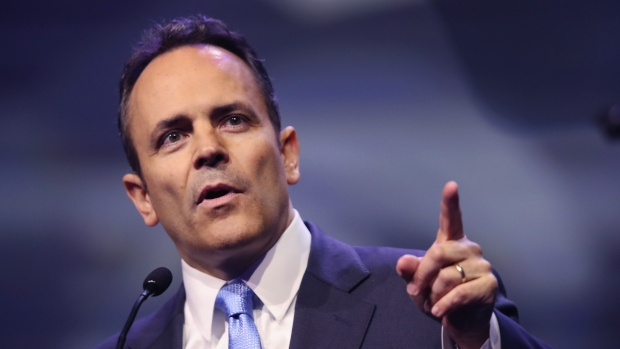 Former Kentucky Gov. Matt Bevin issued 428 pardons in his final days in office after his November defeat to Democrat Andy Beshear, the Louisville Courier Journal reported. (Scott Olson/Getty Images)
